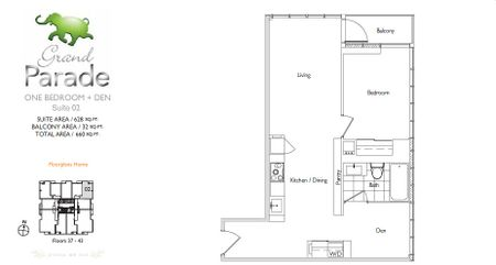 Parade Cityplace Parade Quot Grand Parade Quot Floorplans
