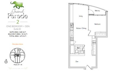Parade Cityplace Parade Quot Grand Parade 2 Quot Floorplans