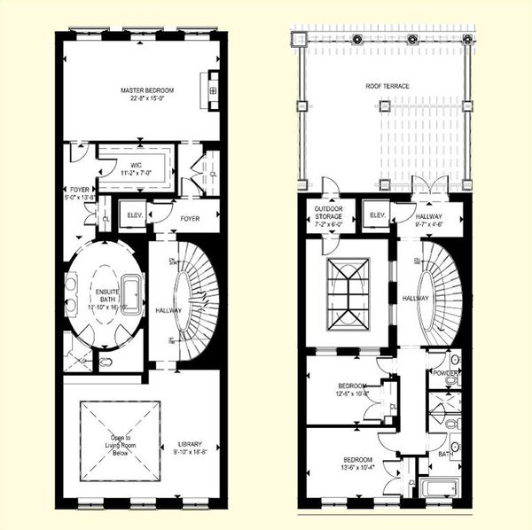 Crystal Cove Apartments: Floor Plans For One St Thomas St Residences