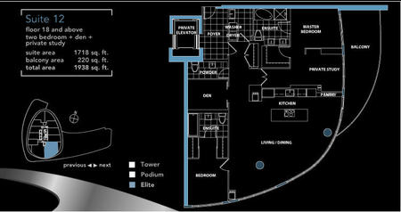 Panorama Cityplace Panorama Elite Floorplans