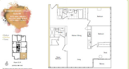 Parade cityplace parade mid rise floorplans for 5 mariner terrace floor plan