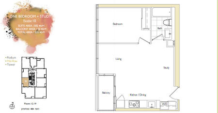 Parade Cityplace Parade Mid Rise Floorplans