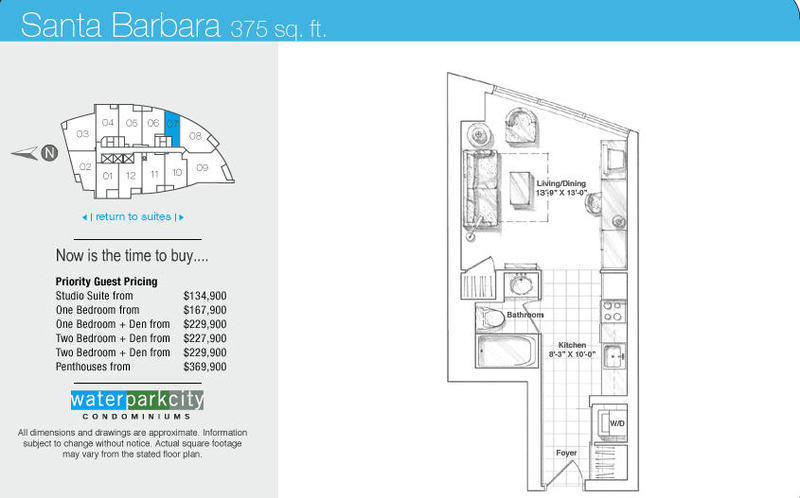WaterParkCity @ Harbourfront: WaterPark City Building Tower Floorplans