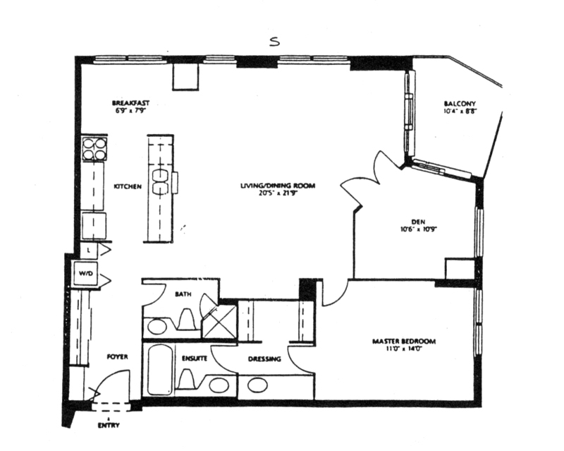 55 harbour square floor plans | TheFloors.Co