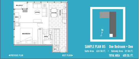 The Gallery Cityplace Floorplans For The Gallery